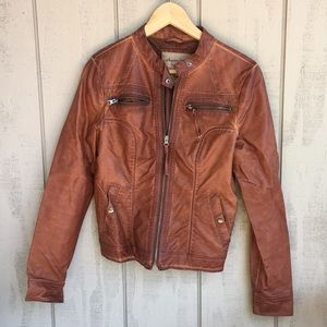 American Rag Faux Leather Jacket.